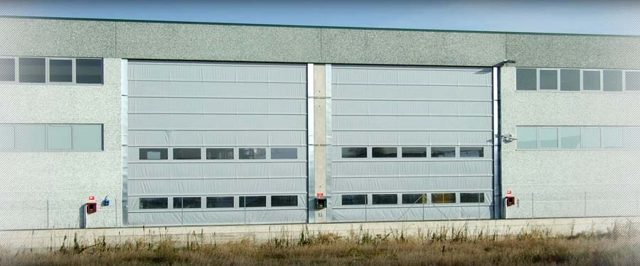 Fold Up rolling door  IMVA Industrial Doors 3