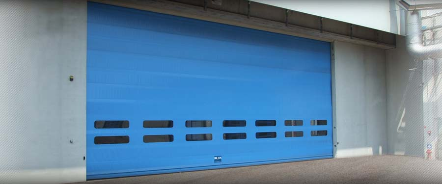 Fold Up rolling door  IMVA Industrial Doors 5
