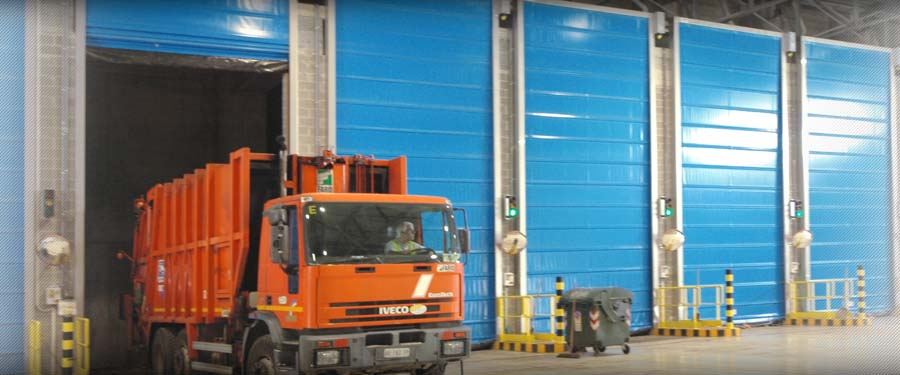 Rapid DOORS FOR RECYCLING AND WASTE TREATMENT5